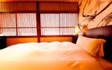 7.5畳の和室と10畳のツインベットルームが付いた落ち着いたお部屋